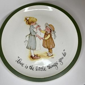 Vintage Holly Hobbie Collector's Edition Plate '72